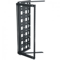 "Middle Atlantic Products - SFR-20-12 - Middle Atlantic Products SFR Rack Frame - 19"" 20U Wide x 12"" Deep Wall Mountable - Black - 100 lb x Maximum Weight Capacity"