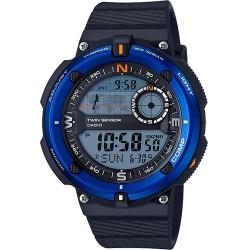 Casio - SGW600H-2A - Casio SGW600H-2A Wrist Watch - Men - Sports - Blue Green Glow - Quartz