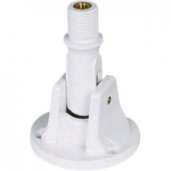 Shakespeare - 495B - Shakespeare Style Marine Mount for Antenna - Plastic, Polycarbonate - White