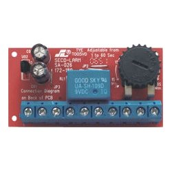 SECO-LARM - SA026Q - Seco-Larm SA-026Q Low-voltage Miniature Delay Timer Module with Relay Output