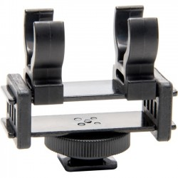 Azden - SMH-3 - Azden Mounting Adapter for Microphone, Camera