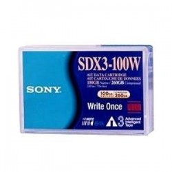 Sony - SDX3100W//AWW - Sony AIT-3 Tape Cartridge - AIT AIT-3 - 100GB (Native) / 260GB (Compressed)