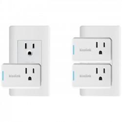 Keewifi - SP200KIT - keewifi Wi-Fi Smart Plug Mini - AC Power - 120 V / 10 A, 230 V - Alexa Supported