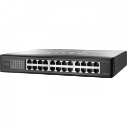 Cisco - SR224-RF - Linksys SR224 Ethernet Switch - 24 Ports - Refurbished - 10/100Base-TX - 24 x Network - 2 Layer Supported - 1U High