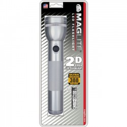 MagLite - ST2D096 - Mag 2 C-Cell LED Handy Torch - LED - 3W - Aluminum - Gray