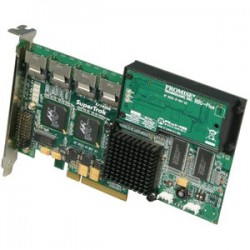 Promise Technology - SUPERTRAK EX 16350 - Promise SuperTrak EX16350 16 Port Serial ATA RAID Controller - 128MB ECC DDR - 300MBps Per Port - 4 x Serial ATA/300 - Serial ATA Internal