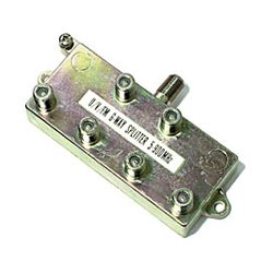 Steren Electronics - 200-206 - Steren 6-Way MATV F-Splitter - 6-way - 900MHz