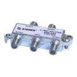 Steren Electronics - 200-224 - Steren MATV RF Splitter - 900 MHz - 5 MHz to 900 MHz