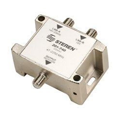 Steren Electronics - 201-740 - Steren Signal Switch - 2.25 GHz - 47 MHz to 2.25 GHz