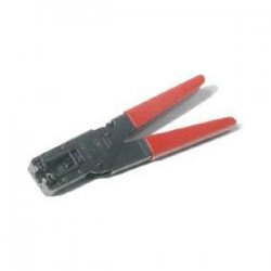 Steren Electronics - 204-001 - Steren Compression Termination Tools - Black, Red - Rubber - 16 oz - Comfortable Grip