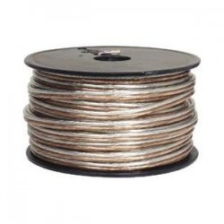 Steren Electronics - 255-316 - Steren Speaker Cable Spool - Bare Wire - 1000ft - Clear