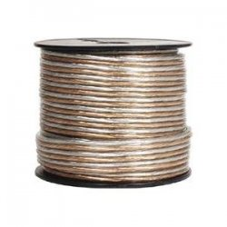 Steren Electronics - 255-414 - Steren Speaker Cable Spool - Bare Wire - 500ft - Clear
