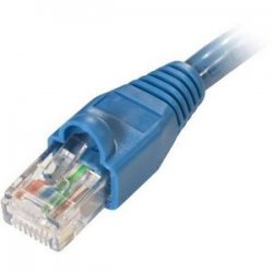 Steren Electronics - 308-600BL - Steren Flush-Mold Cat. 5E UTP Patch Cord - RJ-45 Male - RJ-45 Male - 100ft - Blue