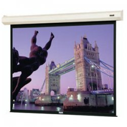 "Da-Lite - 83444L - Da-Lite Cosmopolitan Electrol Projection Screen - Matte White - 92"" Diagonal"