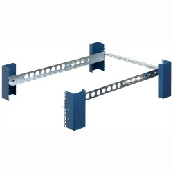 Rack Solution - 3UKIT-109-QR - Rack Solutions Mounting Rail for Server - 200 lb Load Capacity - Zinc