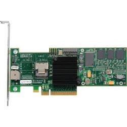 LSI Logic - LSI00177 - LSI Logic MegaRAID 8704EM2 4-port SAS RAID Controller - Serial ATA/300 - PCI Express x8 - Plug-in Card - RAID Supported - 0, 1, 5, 6, 10, 50, 60 RAID Level - 1 SAS Port(s)