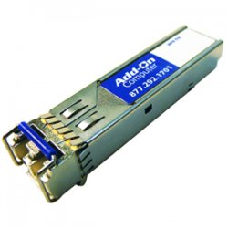 AddOn - GLC-GE-100FX-AO - AddOn Cisco GLC-GE-100FX Compatible TAA Compliant 100Base-FX SFP Transceiver (MMF, 1310nm, 2km, LC, DOM) - 100% compatible and guaranteed to work