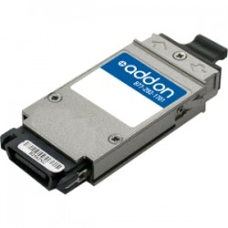 AddOn - ONS-GC-GE-LX-AO - AddOn Cisco ONS-GC-GE-LX Compatible TAA Compliant 1000Base-LX GBIC Transceiver (SMF, 1310nm, 10km, SC) - 100% compatible and guaranteed to work