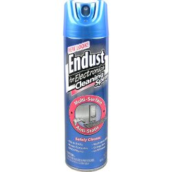 Norazza - 096000 - Endust 8oz. Anti-static Multi-Surface Spray - Electronic Equipment, Tablet PC, Display Screen, Desktop Computer - Ammonia-free, Alcohol-free, Streak-free