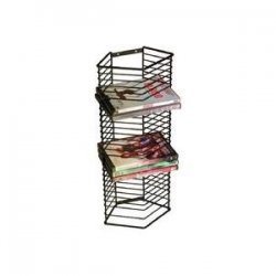 Atlantic - 1331 - Atlantic - Onyx DVD Tower - Steel
