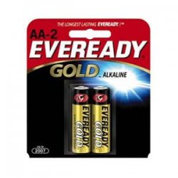 Energizer - A91BP-2 - Eveready Aa2 Pk Alkaline