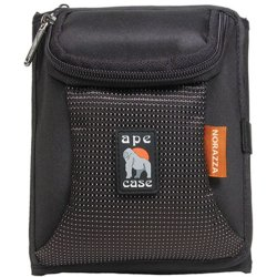 "Norazza - AC252 - Ape Case AC252 Tri-Fold Wallet and Camera Case - Wallet - 6.5"" x 3"" x 5.5"" - Nylon - Black"