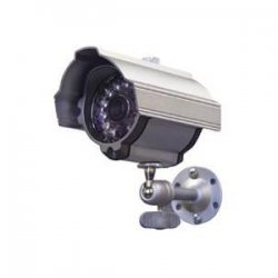 Speco - CVC-627 - Speco CVC-627 Waterproof Day/Night Bullet Camera - Silver - Color, Black & White - CCD - Cable