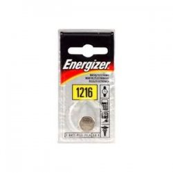 Energizer - ECR-1216BP - Energizer 25 mAh Coin Cell Battery - 3V DC