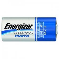 Energizer - EL123APB2 - Energizer Lithium Photo Battery for Digital Cameras - 3 V DC - 2 / Pack