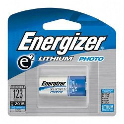 Energizer - EL123APBP - Energizer e2 EL123 Lithium Digital Camera Battery - 1300 mAh - Lithium (Li) - 3 V DC