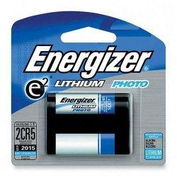 Energizer - EL2CR5BP - Energizer e2 Lithium Digital Camera Battery - 1300 mAh - Lithium (Li) - 6 V DC - 1 / Pack