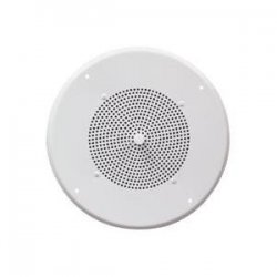 Speco - G86-TCG - Speco G86TCG 10 W RMS - 10 W PMPO Indoor Speaker - 1 Pack - White - 8 Ohm - Ceiling Mountable
