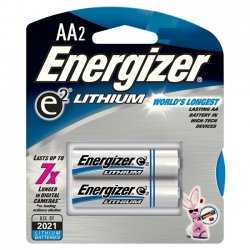 Energizer - L91BP-2 - Energizer Multipurpose Battery - AA - Lithium (Li) - 1.5 V DC - 2 / Pack