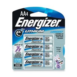 Energizer - L91BP-4 - Energizer Ultimate Lithium AA Batteries - AA - Lithium (Li) - 1.5 V DC - 4 / Pack