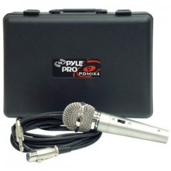 Pyle / Pyle-Pro - PDMIK-4 - Pyle PDMIK4 Dynamic Microphone - Dynamic - 50Hz to 15kHz - Cable