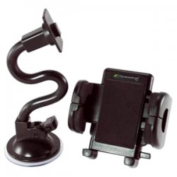 Bracketron - PHW-203-BL - Bracketron Mobile Grip-iT Windshield Mount Kit - Black