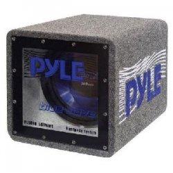 Pyle / Pyle-Pro - PLQB10 - Pyle Blue Wave PLQB10 - 500 W PMPO Woofer - 1 Pack - Blue - 4 Ohm
