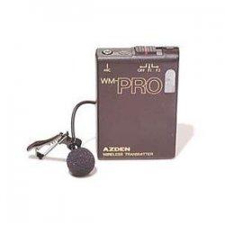 Azden - WLT-PRO - Azden WL/T-PRO VHF Wireless Bodypack Transmitter - 169.45MHz, 170.24MHz Transmitter Frequency
