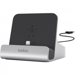 Belkin - F8J088BT - Belkin Cradle - Wired - iPad, iPhone - Charging Capability - Synchronizing Capability