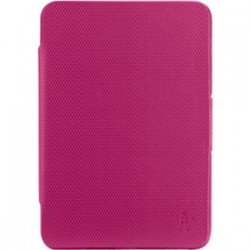 Belkin - F7N023BTC02 - Belkin APEX360 Carrying Case for iPad mini - Fuchsia - Damage Resistant, Wear Resistant, Tear Resistant, Shock Absorbing, Drop Resistant, Bump Resistant, Ding Resistant - Rubber