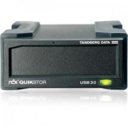 Overland Storage - 8636-RDX - Tandberg Data RDX QuikStor 8636-RDX Drive Enclosure Internal - Black - 1 x Total Bay - 1 x 3.5 Bay - USB 3.0