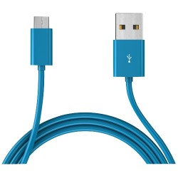 Mota / UNorth - MT-GMU6B - TAMO Micro USB Cable - Blue, 6ft - USB for Cellular Phone - 6 ft - 1 Pack - 1 x Type A Male USB - 1 x Male Micro USB - Blue