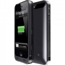 Mota / UNorth - AP5-30K - TAMO iPhone 5/5s Extended Battery Case - Black - MFi, iPhone - Black