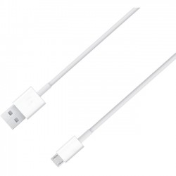 4xem - 4XMUSBCBLWH - 4XEM 6ft Micro USB To USB Data/Charge Cable For Samsung/HTC/Blackberry - Micro USB to USB for smart Phones - 6 ft - 1 x Type A Male USB - 1 x Type B Male Micro USB - White