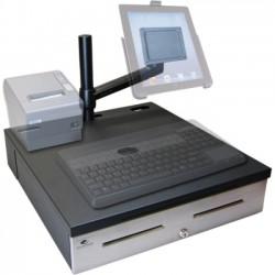 APG Cash Drawer - RKMBL1816 - APG Cash Drawer Caddy Mounting Arm for Monitor - 20 lb Load Capacity - Black