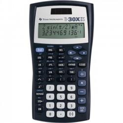 Texas Instruments - 30XIIS/TBL/1L1/BA - Texas Instruments TI-30XIIS Scientific Calculator - Impact Resistant Cover, Dual Power - Battery/Solar Powered - Blue - Plastic