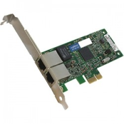 AddOn - 42C1780-AOK - AddOn IBM 42C1780 Comparable 10/100/1000Mbs Dual Open RJ-45 Port 100m PCIe x4 Network Interface Card - 100% compatible and guaranteed to work