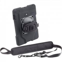 Kensington - K67832WW - Kensington SecureBack K67832WW Carrying Case for iPad - Black - Drop Resistant Interior - Neoprene - Hand Strap, Shoulder Strap