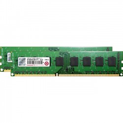 Transcend - JM1600KLH-16GK - Transcend DDR3 Memory 240Pin Long-DIMM DDR3-1600 Dual Channel Kit - 16 GB (2 x 8 GB) - DDR3 SDRAM - 1600 MHz DDR3-1600/PC3-12800 - Non-ECC - Unbuffered - 240-pin - DIMM