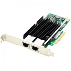AddOn - 49Y7970-AOK - AddOn IBM 49Y7970 Comparable 10Gbs Dual Open RJ-45 Port 100m PCIe x8 Network Interface Card - 100% compatible and guaranteed to work